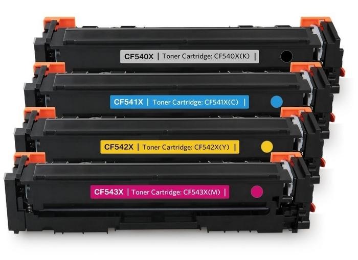 410X kompatible Toner HP Rainbow Kit cmyk CF410X