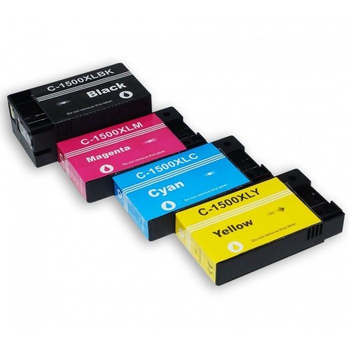PGI-1500 kompatible Tintenpatronen Canon Multipack cmyk 9182B004