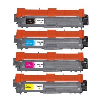 TN-241/TN-245 kompatibler Toner Brother Rainbow Kit cmyk