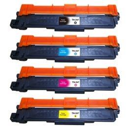 TN-247 kompatible Toner Brother Rainbow kit cmyk