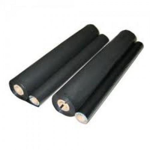 UX-92CR kompatible Thermotransferrolle Sharp schwarz 2er Pack
