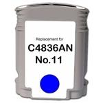 11 kompatible Tintenpatrone HP cyan C4836A