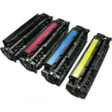 125A kompatible Toner HP Rainbow Kit cmyk Canon CRG-716