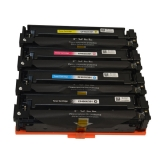 201X kompatible Toner HP Rainbow Kit cmyk