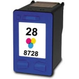 28 kompatible Tintenpatrone HP color C8728AE