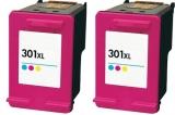 301XL kompatible Tintenpatronen Canon color Doppelpack CH564EE
