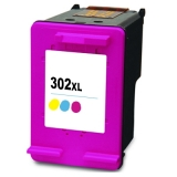302XL kompatible Tintenpatrone HP color F6U67AE