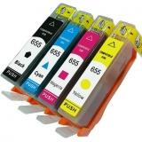 655 kompatible Tintenpatronen HP Multipack cymk