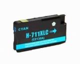 711 kompatible Tintenpatrone HP cyan CZ134A