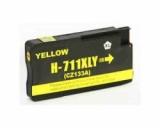 711 kompatible Tintenpatrone HP yellow CZ136A