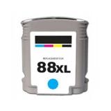 88 kompatible Tintenpatrone HP cyan C9391AE