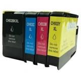 932XL/933XL kompatible Tinten HP Rainbow Kit cmyk C2P42AE