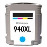 940XL kompatible Tintenpatrone HP cyan C4907AE