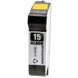 15 kompatible Tintenpatrone HP schwarz C6615DE