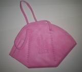 1x FFP2 mit CE Zertifikat Atemschutzmaske in Rosa Pink