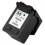 56A kompatible Tintenpatrone HP schwarz C6656AE