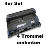 DR-2100 kompatible Trommeleinheit Brother 4er Set