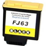 FJ63 kompatible Tintenpatrone Olivetti schwarz B0702