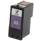 33 kompatible Tintenpatrone Lexmark color 18C0035E