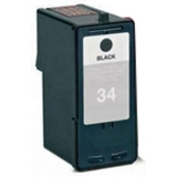 34 kompatible Tintenpatrone Lexmark schwarz 18C0034E