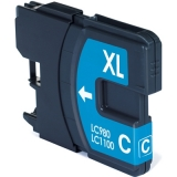 LC-1100C kompatible Tintenpatrone Brother cyan
