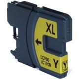 LC-1100Y kompatible Tintenpatrone Brother yellow