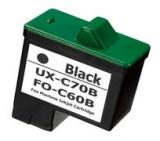 UX-C70B kompatible Tintenpatrone Sharp schwarz
