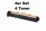 TN-1030 kompatible Toner Brother schwarz 4er Set