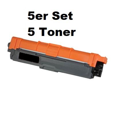 TN-247BK kompatibler Toner Brother schwarz 5er Pack